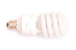 Energy saving lamp. Isolated on white background Stock Image
