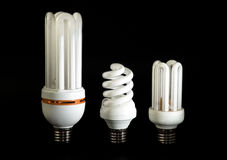 Energy saving lamp Stock Images