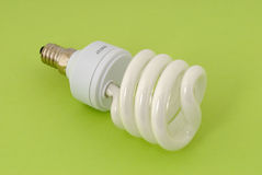 Energy saving lamp Stock Photography