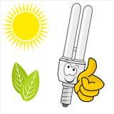 Energy saving lamp Stock Photo