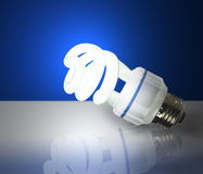 Energy saving lamp Royalty Free Stock Photo