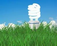 Energy saving lamp Royalty Free Stock Photos
