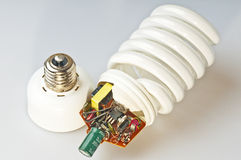 Energy saving lamp Royalty Free Stock Photo