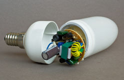 Energy-saving lamp Royalty Free Stock Photo