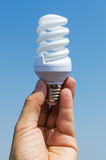 Energy saving lamp stock images