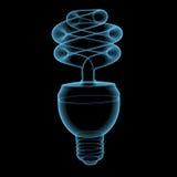 Energy saving lamp Stock Photography