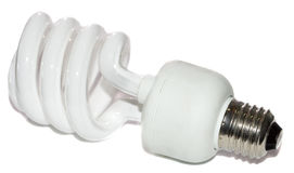 Energy-saving lamp Stock Images