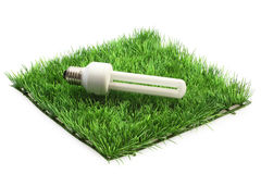 Energy saving lamp Royalty Free Stock Image