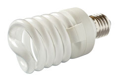 Energy saving lamp. Royalty Free Stock Photography