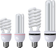 Energy saving lamp Royalty Free Stock Photos