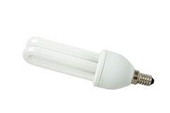 Energy saving lamp. Mini base. Royalty Free Stock Photography