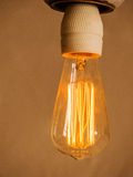 Energy saving lamp, symbol photo Royalty Free Stock Photography