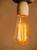 Energy saving lamp, symbol photo Royalty Free Stock Photography