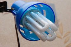 Energy saving lamp1 Royalty Free Stock Images