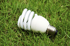 Energy saving lamps Royalty Free Stock Images