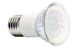 Energy-saving LED bulb. Isolated on a white field Royalty Free Stock Image