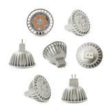 Energy saving led bulb isoalted Royalty Free Stock Photos