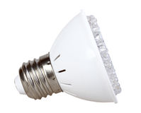 LED cone-lamp Stock Image