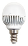 Energy-saving led lamp Stock Photo