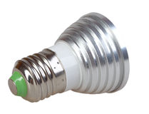 Energy-saving LED lamp Royalty Free Stock Image