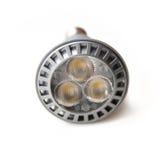 Energy saving LED light bulb. On white background Stock Images