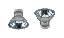 Energy saving LED light bulb. Isolated on white Stock Image