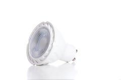 Energy saving LED light bulb isolated on white.  Royalty Free Stock Images