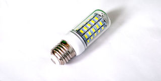 Energy saving LED light bulb. Picture of a  Energy saving LED light bulb Stock Photo