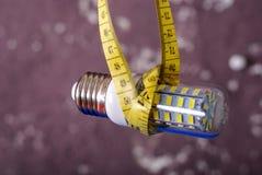 Energy saving LED light bulb Stock Images
