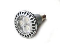 Energy saving LED light bulb. On white background Stock Image