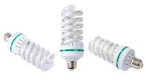 Energy saving LED light bulb. On white background Royalty Free Stock Photos