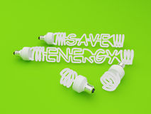 Energy saving light Stock Image