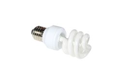 Energy-saving light bulb Royalty Free Stock Photos