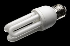 Energy saving light bulb Royalty Free Stock Image