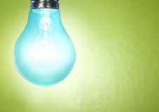 Energy saving light bulb Royalty Free Stock Photos