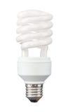 Energy saving light bulb. Isolated on white Royalty Free Stock Image