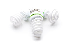 Energy saving light bulb Royalty Free Stock Images