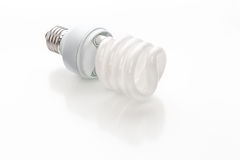 Energy saving light bulb Stock Photography