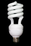 Energy Saving light bulb Stock Image