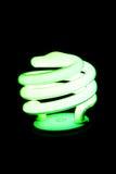 Energy-Saving Light Bulb Stock Photo