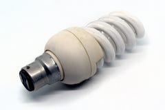 Energy saving light bulb. Against a white background Royalty Free Stock Photos