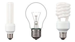 Energy saving light bulbs Royalty Free Stock Photo