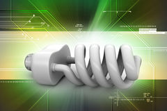 Energy saving light bulbs Royalty Free Stock Images