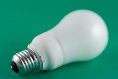 Energy Saving Lightbulb. Green Energy Lightbulb stock image