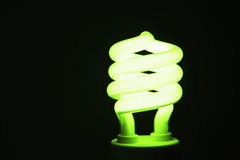 Energy Saving Lightbulb Royalty Free Stock Photos