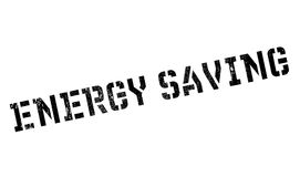 Energy Saving rubber stamp Royalty Free Stock Photo