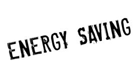 Energy Saving rubber stamp Royalty Free Stock Photography