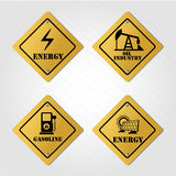 Energy signals Royalty Free Stock Image