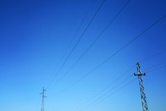 Energy on sky Royalty Free Stock Images
