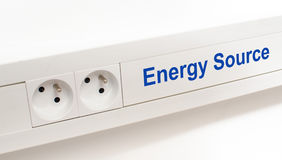 Energy source Royalty Free Stock Photography